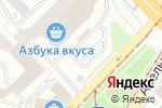 Схема проезда до компании Автомойка на Марксистской в Москве