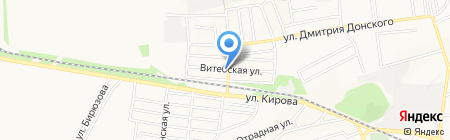 Мила на карте Донецка