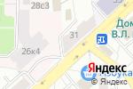 Схема проезда до компании Anika-Hair в Москве