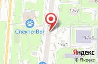 Схема проезда до компании Гвис в Москве