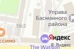 Схема проезда до компании Шаоша в Москве
