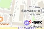 Схема проезда до компании Концерн МонАрх в Москве