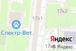 Схема проезда до компании Магазин одежды в Москве