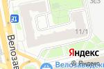 Схема проезда до компании Гранитная мастерская в Москве