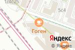 Схема проезда до компании Armatura в Москве