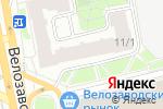 Схема проезда до компании Библиотека №147 в Москве