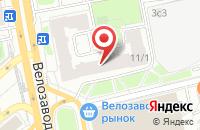 Схема проезда до компании Коммерческая Безопасность в Москве