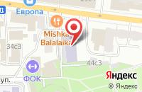 Схема проезда до компании Гражданская Смена в Москве
