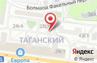 Схема проезда до компании Роллинг в Москве