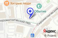 Схема проезда до компании ПРОИЗВОДСТВЕННАЯ ФИРМА ЛИНДА в Москве