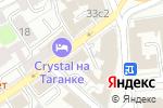 Схема проезда до компании ЦентрГранит в Москве