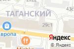 Схема проезда до компании Toncafe в Москве