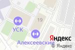 Схема проезда до компании Теннисный центр в Москве