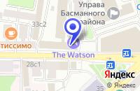 Схема проезда до компании ИНЖИНИРИНГОВАЯ ФИРМА БАЗИС в Москве