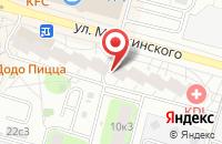 Схема проезда до компании Трансстройсертифика в Москве