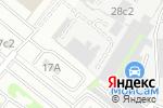 Схема проезда до компании ASA Steklo в Москве