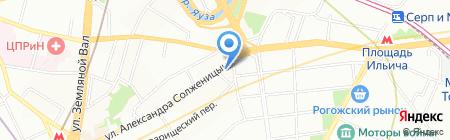 Азия Mix на карте Москвы