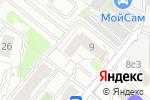 Схема проезда до компании Управа района Ростокино в Москве