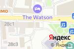 Схема проезда до компании Born to Burn в Москве