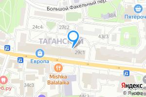 Сдается двухкомнатная квартира в Москве м. Марксистская, Таганская улица, 29
