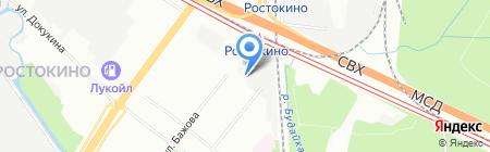 АлексПроЛайн на карте Москвы