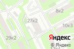 Схема проезда до компании Связьсервис в Москве