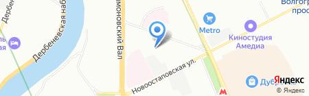 Кентавр на карте Москвы