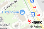 Схема проезда до компании Pick-up.ru в Москве