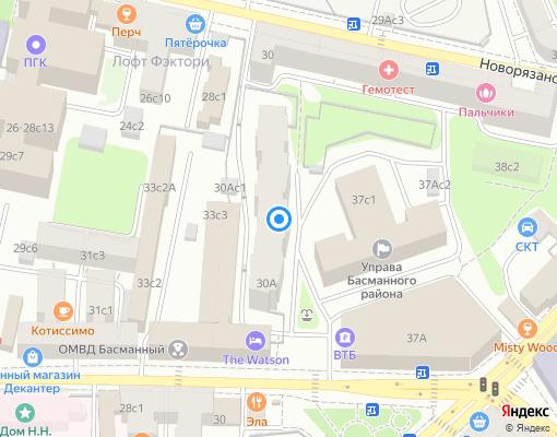 Товарищество собственников жилья «Садко» на карте Москвы