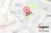 Схема проезда до компании Адонсремстройпуть в Москве
