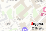 Схема проезда до компании Динамика в Москве