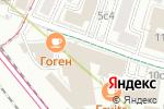 Схема проезда до компании Aprilli в Москве