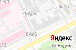 Схема проезда до компании Зевс в Москве