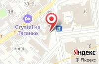 Схема проезда до компании ИжИнвестСтрой в Москве