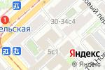 Схема проезда до компании МСГИ в Москве