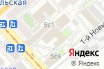 Схема проезда до компании Авиа Флайт в Москве
