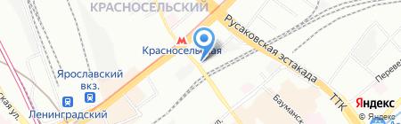 СУПР на карте Москвы