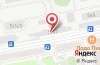 Схема проезда до компании Мегафлекс в Москве
