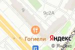 Схема проезда до компании Будь собой в Москве