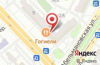 Схема проезда до компании Редакция Газеты «Бульварное Кольцо» в Москве