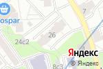 Схема проезда до компании Пирит-99 в Москве