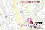 Схема проезда до компании Адвокат Филиппов и партнеры в Москве