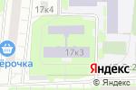 Схема проезда до компании Московская школа Таэквон-До в Москве