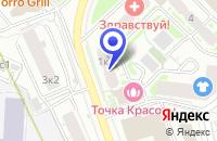 Схема проезда до компании ИНФОРМАЦИОННАЯ СЛУЖБА КРАСНЫЙ ТЕЛЕФОН в Москве