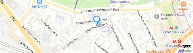 Микульский переулок