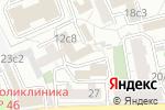 Схема проезда до компании Стройинтерсервис-К в Москве