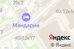 Схема проезда до компании Linemax Group в Москве