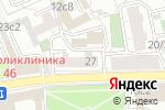 Схема проезда до компании Федерация хоккея с мячом России в Москве