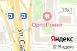 Схема проезда до компании Студия визажа и причесок в Москве