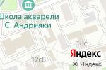 Схема проезда до компании ПРАВОСФЕРА в Москве